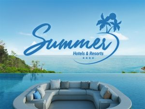 Logo concept - Summer by Creation Logo 44 - Hotels & Resorts