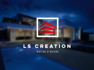 LS Création // Identité visuelle réalisée par Création Logo 44