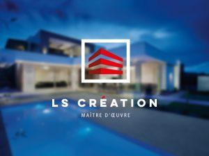 LS Création : Maître d'œuvre by Création Logo 44